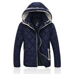 MR.ZERO - Hooded Quilted Padded Jacket