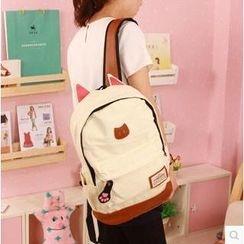 MooMoo Shop - Cat Ear Accent Backpack