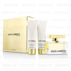 Dolce & Gabbana - The One Coffret: Eau De Parfum Spray 75ml/2.5oz + Body Lotion 50ml/1.6oz + Shower Gel 50ml/1.6oz