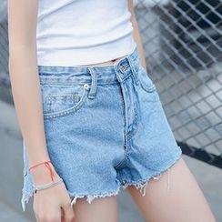 Ashlee - Denim Shorts