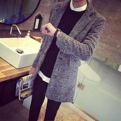 YONDER - Notched-Lapel Buttoned Coat