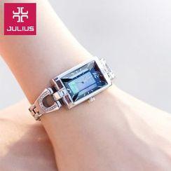 JULIUS - Rhinestone Bracelet Watch