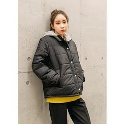 J-ANN - Hooded Padded Coat