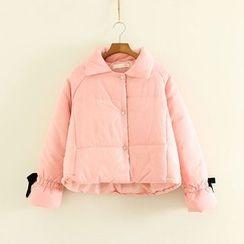 三木社 - 純色夾棉夾克