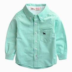 Kido - 小童长袖衬衫