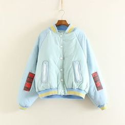 Mushi - Padded Baseball Jacket