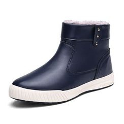 EnllerviiD - Fleece-Lined Short Boots