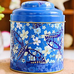 Maltose - Floral Print Tea Caddy