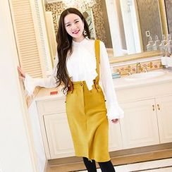 Sweet Dream - Slit Jumper Skirt