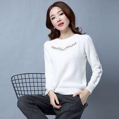 Romantica - Embroidery Sweater