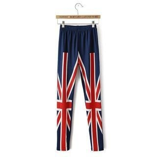 JVL - Union Jack Print Leggings