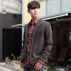 STYLEMAN - Fleece-Lined Knit Jacket