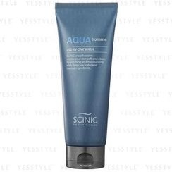 Scinic - Aqua Homme All-in-One Wash