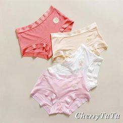 CherryTuTu - Contrast Trim Panties