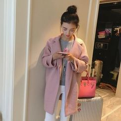 Tangerina - Snap Button Coat