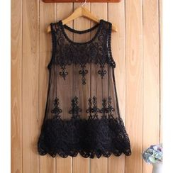 Dream a Dream - Lace Tank Top
