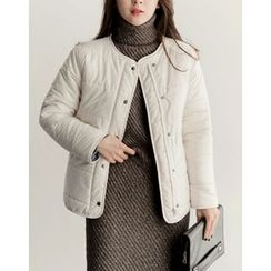 UPTOWNHOLIC - Round-Neck Padded Jacket