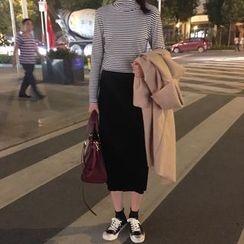 Bloombloom - A-line Midi Skirt