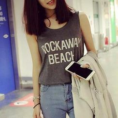 Eva Fashion - Lettering Tank Top
