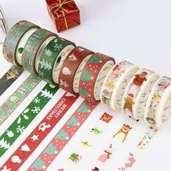 Homey House - Christmas Pattern Masking Tape