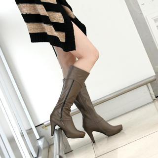 yeswalker - Hidden Platform Zip Boots