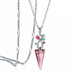 Italina - Swarovski Elements Pendant Necklace