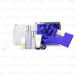 Shiseido - Revital Set: Cleansing Foam 20g + Lotion EX II 75ml + Serum 10ml + Moisturizer EX II 30ml + Cream 7ml + Eye Mask + Mask + Bag