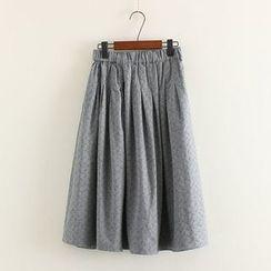三木社 - 純色中裙