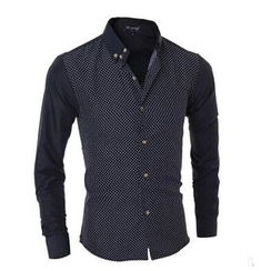 Hansel - Dotted Panel Shirt
