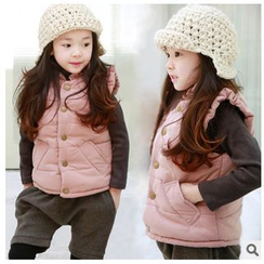 Cuckoo - Kids Fleece-lined Padded Vest