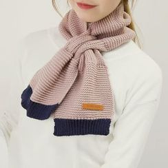 Honey House - Panel Knit Scarf