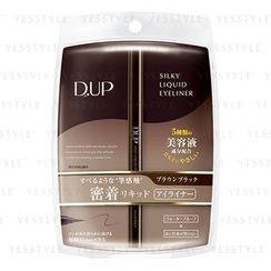D-up - Silky Liquid Eyeliner WP (Brown Black)