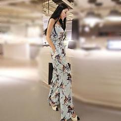 Romantica - Floral Jumpsuit