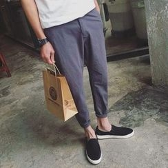 优凡士品 - 麻混纺哈伦裤