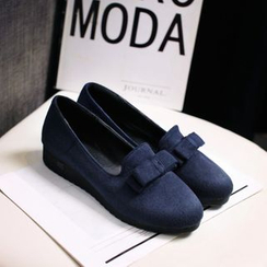 Pastel Pairs - Bow Loafers