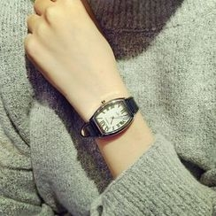 Honey Bee - 真皮帶式手錶