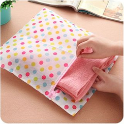 Desu - Dotted Zip Laundry Bag