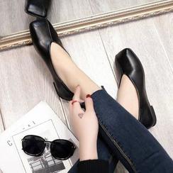 Chryse - 纯色平跟鞋