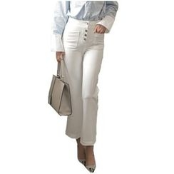 chic n' fab - Cropped Boot Cut Pants