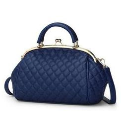Rabbit Bag - Faux-Leather Quilted Handbag