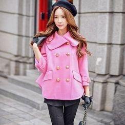 Dabuwawa - Wool Blend Double-Breasted Jacket