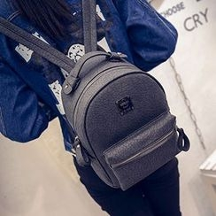 Little Days - Faux Leather Backpack
