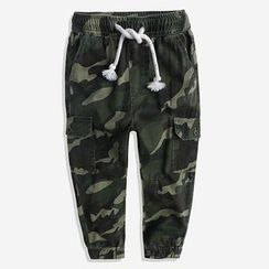 Happy Go Lucky - Kids Camo Harem Pants