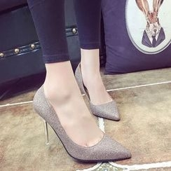 Charming Kicks - 尖頭高跟鞋