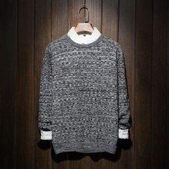 Riverland - Melange Knit Top