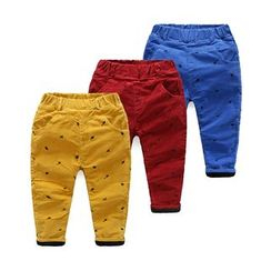 WellKids - Kids Embroidery Corduroy Pants