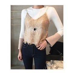 ssongbyssong - Lace Bustier Top