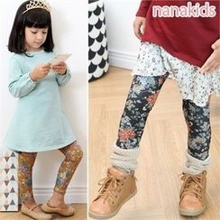nanakids - Girls Floral Pattern Leggings
