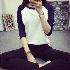 Ukiyo - Raglan Long-Sleeve T-shirt