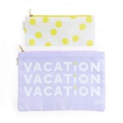 LIFE STORY - Set: Dot Pouch (S) + Lettering Pouch (M)